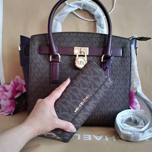acff9a9514a0 Michael Kors Bags - NWT Michael kors Hamilton purse bag w  wallet set